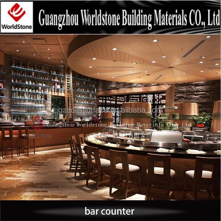 Ltima barra de buffet sushi bar mostrador de dise o mesas for Diseno de barras de bar