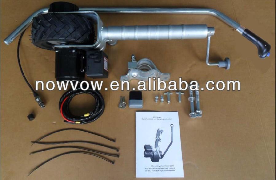 jockey wheel motor mover