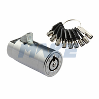 MK209 Tubular Key Vending Machine Lock Cylinder With Master Key System