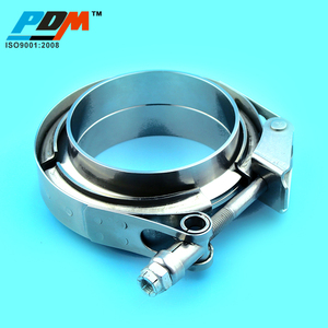 stainless steel v band clamp and flange