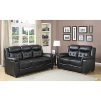 European wholesale China modern design cheap Sectional recliner sofa 3 2 1 seaters leather sofa set