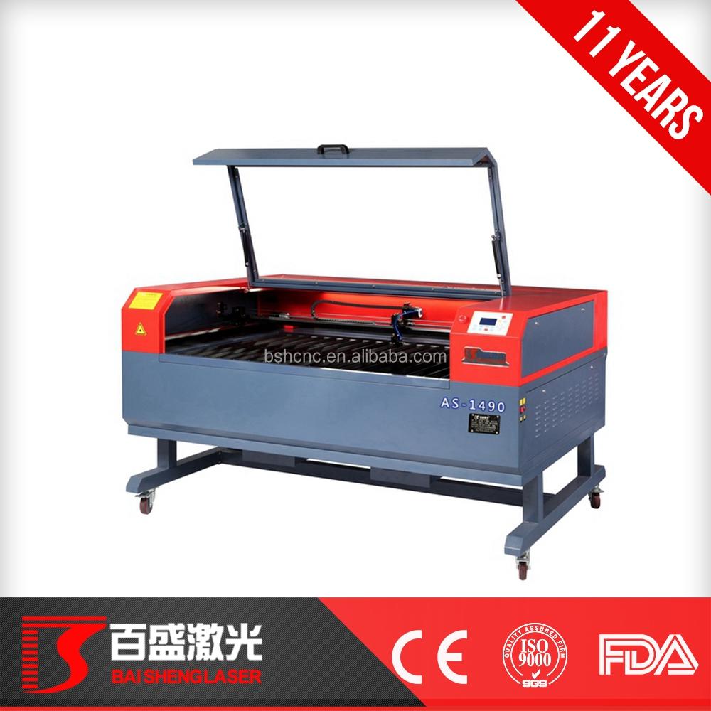 laser engraver machine with free software AS-1490, View Laser Engraving  Cutting Machine price, Baisheng Product Details from Guangzhou Baisheng