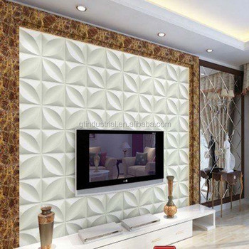 pvc 3d wall panels 3d design decorative mdf wall panel flat panel tv wall mount - Tv Wall Panels Designs
