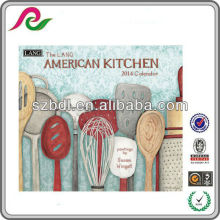 2014 imprimible pared de la cocina americana año calendario