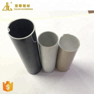 Hot! EUROPE oval aluminum profile, color anodized aluminum hollow profile