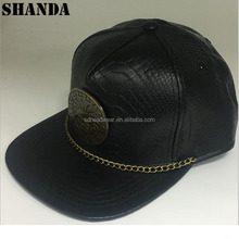 best website 6527a fd615 ... uk custom crocodile snapback cap with leather brim custom crocodile snapback  cap with leather brim suppliers