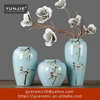 Jingdezhen Large Floor Vase Types Of Ceramic Flower Vase Buy
