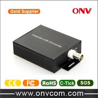 Gold supplier 10/100M Ethernet over Coaxial EOC Converter
