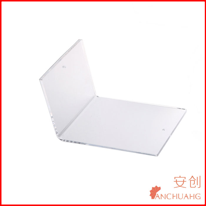 Clear Acrylic Book Divider Book Stand In Customized Size and Logo