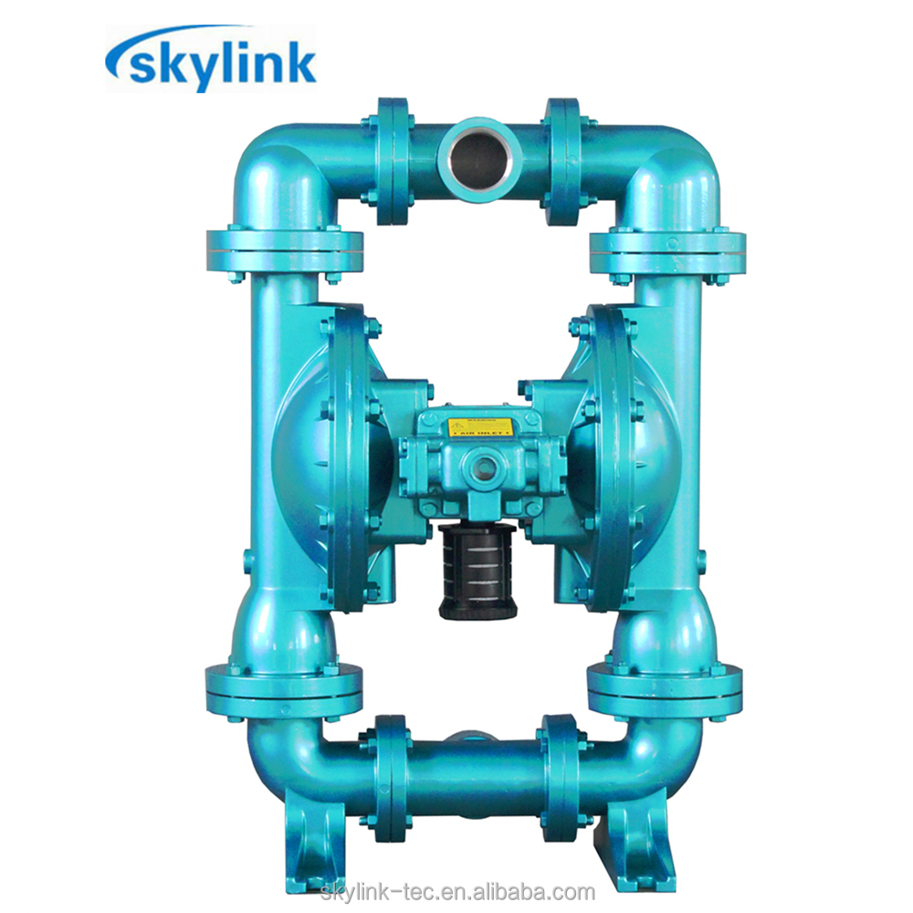 double booster reciprocating air operated diaphragm pump