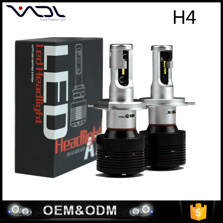 Amazon superior quality 6000k led car headlight assembly H1 H7 H11 car led headlight bulb high power car h4 led headlight bulbs