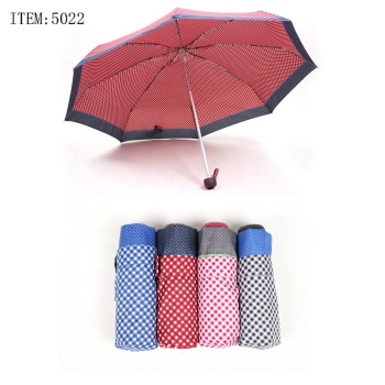 RST real star 2019 capsule fashionable 19 inches rain umbrella 5 fold small mini latest umbrella
