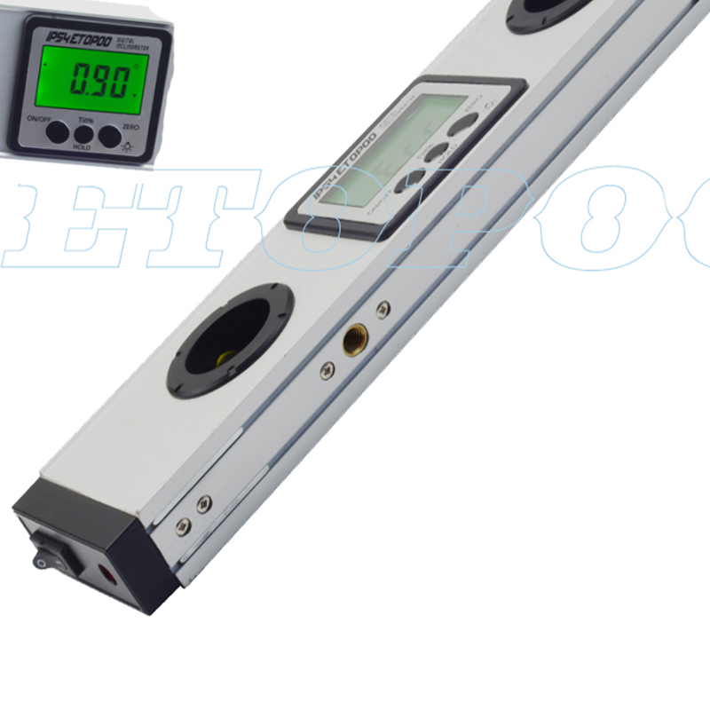 600 Mm Digitale Spirit Level Laser Gradenboog Inclinometer Digitale Niveau Met Laser Beam Digitale Niveau Met Laser