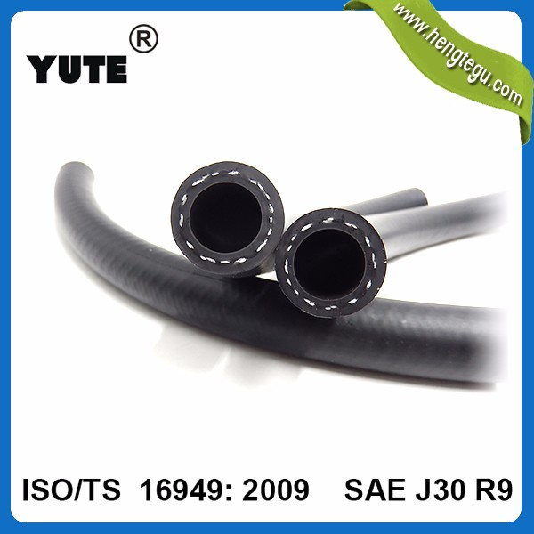 Professional parts 10mm foton 404 tractor fuel hose with iso/ts 16949