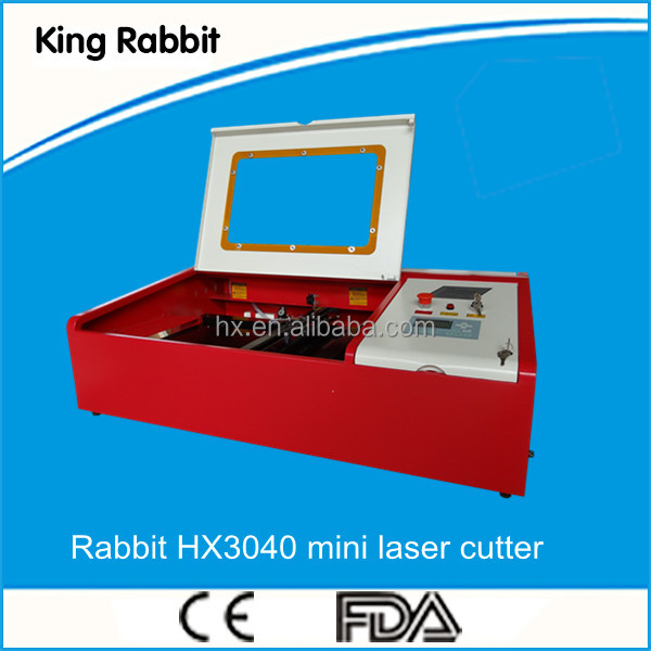 China mini leather label laser engraving machine