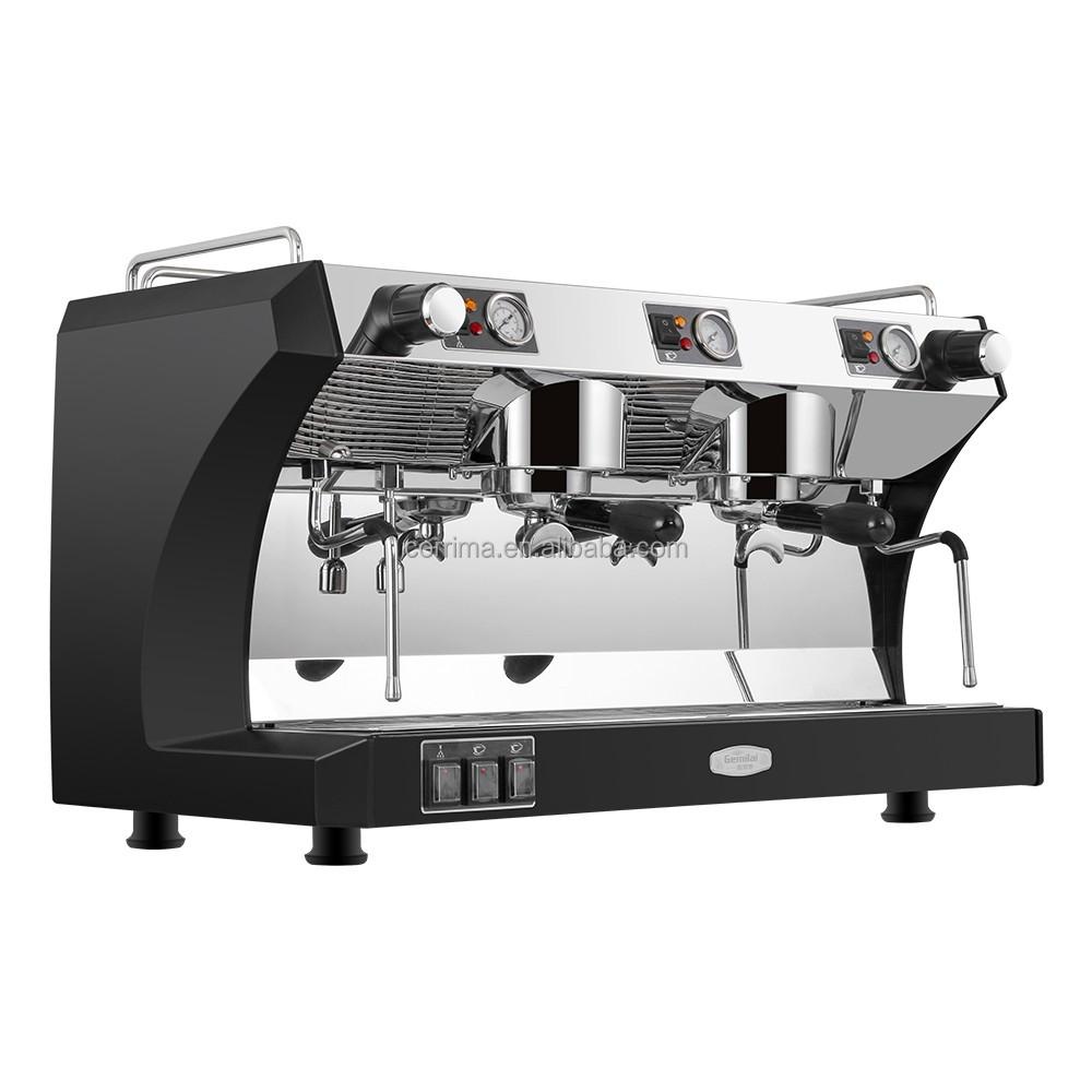 China factory supplying hot selling commercial espresso coffee machine with two head 4cup