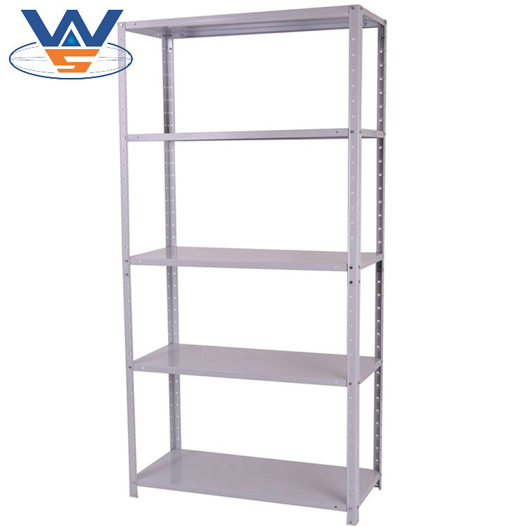 slotted angle adjustable upright beam steel frame shelving