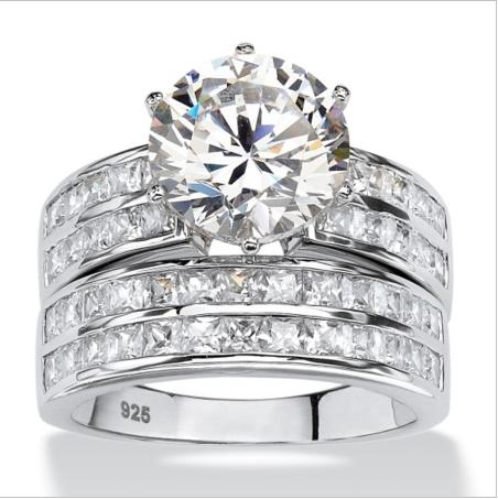 SJ Buy Jewellery Online SJJ012 Luxury Women Lead Free Brass Platinum Plated  Man-Made Gemstone 2f023808c1