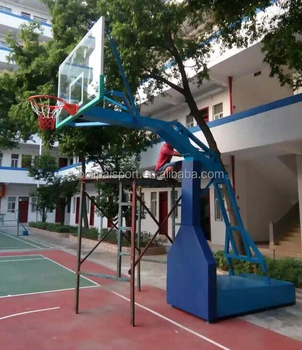 Bulk Indoor Basketball Goal Pipe Fixed Basketball Stand For Sale ...