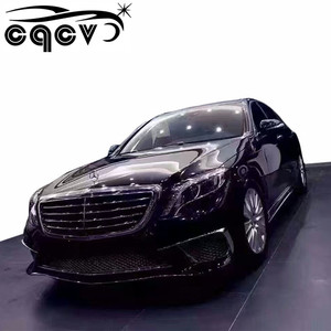 2014-2017 body kits for Mercedes Benz S class W222 upgrade to S65 A M G  tuning parts