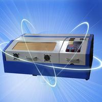 small desktop 40W rubber stamp/key chain/wood phone cases laser engraving machine FL-k40D