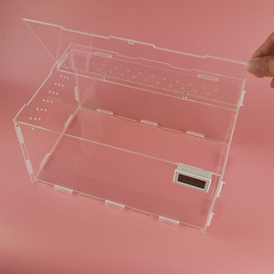 wholesale custom Acrylic Terrarium for Reptiles / Acrylic Reptile Display Cages
