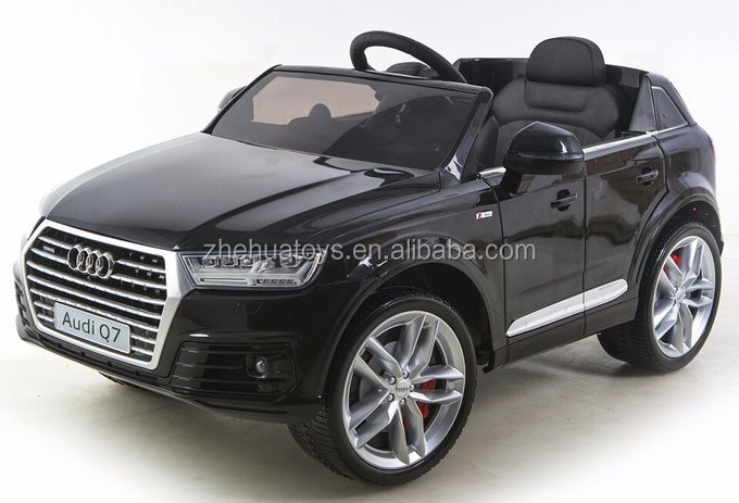 2016 Newest Audi Q7 Suv Baby Ride On Toy Car 12v Electric Cars For