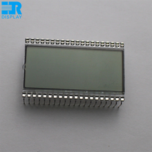4 digit TN lcd panel static driver single common 7 segment lcd display 40pins