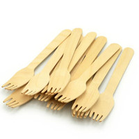Disposable Wooden Cutlery Eco-Friendly Cutlery Set Includes Forks, Knives and Spoons Premium Quality birch wood cutlery