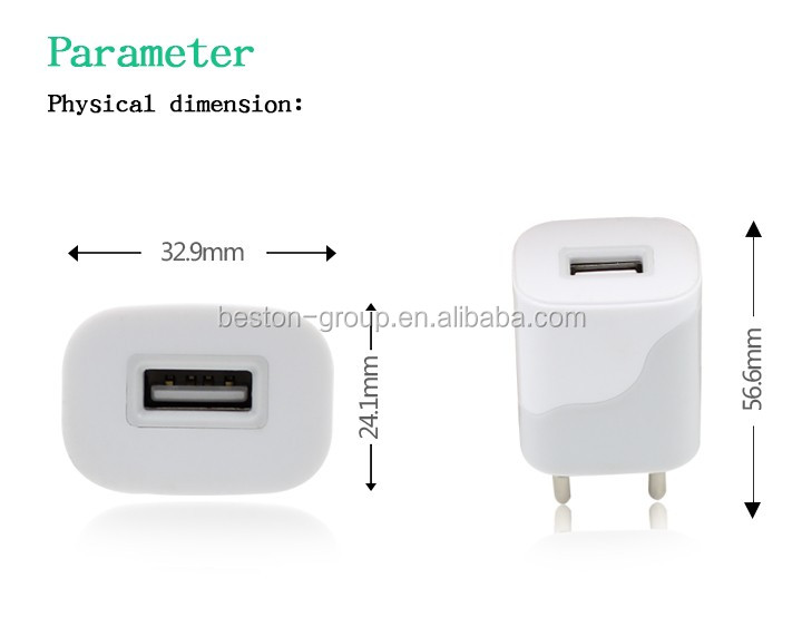 Rapid 1 Usb Power Adapter Cell Phone Tablet Phone Wall Charger For ...