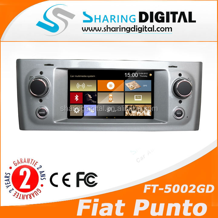 FT-5002GD with Bluetooth/AM/FM/RDS fiat grande punto dvd player