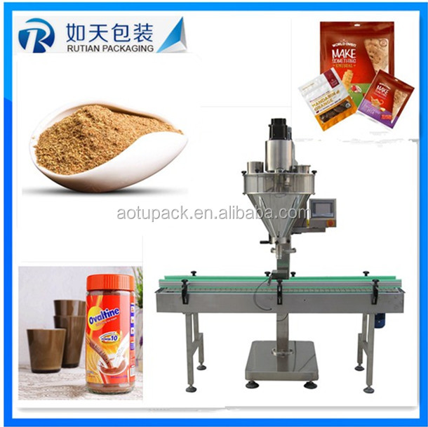 Cow milk, goat milk packing machine with plastic pouch