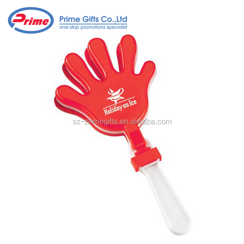 2019 Newest Design Noise Maker Plastic Fan Hand Clapper with Custom Logo