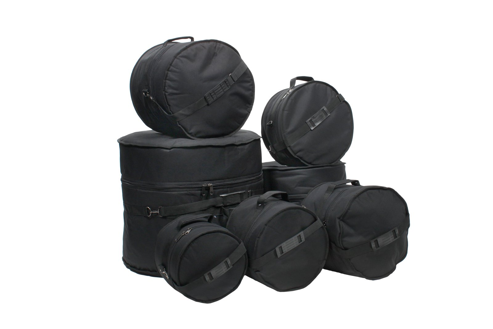 daf4e61a811 Get Quotations · XSPRO 7 Piece Deluxe Padded Drum Bag Set for Gretsch  Catalina Maple