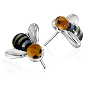 Minimalist jewelry trendy costume earring see shell bee earing