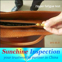 Fashion handbag inspection service anf quality control in China