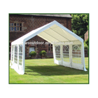 10'x20' heavy duty marquees, party tents, car canopy shelter with windows and sidewalls, white