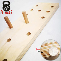 Hot sale Wall Mounted Fitness Wooden Climbing Peg Board