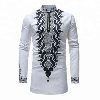 Mens African Clothing Digital Printed Custom African Shirts - Buy African  Shirt Designs,Custom African Shirts,Digital Printed African Shirts Product