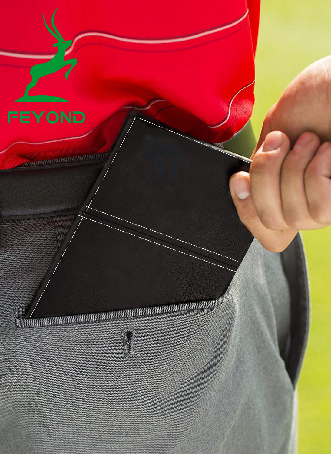 야드가 책 홀더 Cover Golf Scorecard 주최자 Gift 팩 Golf 점수 Card Holder Golf Scorecard 홀더