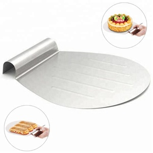 Stainless Steel Cake Lifter Amazon Hot Sale/Best Cake Lifter Shovel Transfer Cake Tray /Moving Plate Cake Lifter.