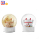 Unique Lucky Cat Snow Globes For Home Decoration