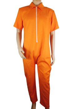 Factory price wholesale comfortable customized orange mens prison scrub set medical uniform