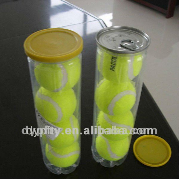 tennis ball PVC packagings cans