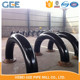 100%rt 6d 22.5deg big size carbon steel long radius bend pipe