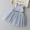 New product baby girl cotton frocks designs summer cotton dress flower girl dresses for party