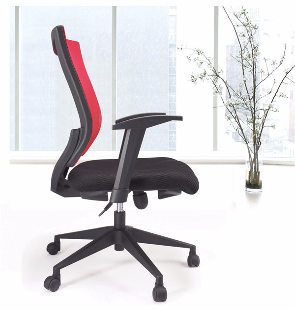 Office Furniture Chair Grass Green Mesh Smart Visitor Chair Wood ...