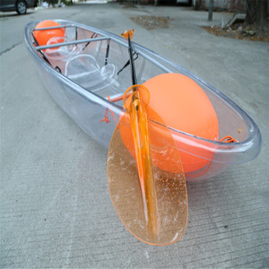 2018 New Design Transparent aluminum frame kayak