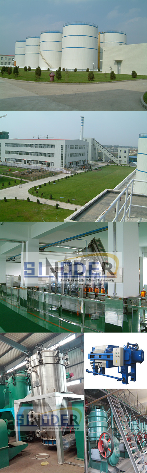 Buy small palm oil refinery machine soybean oil refining