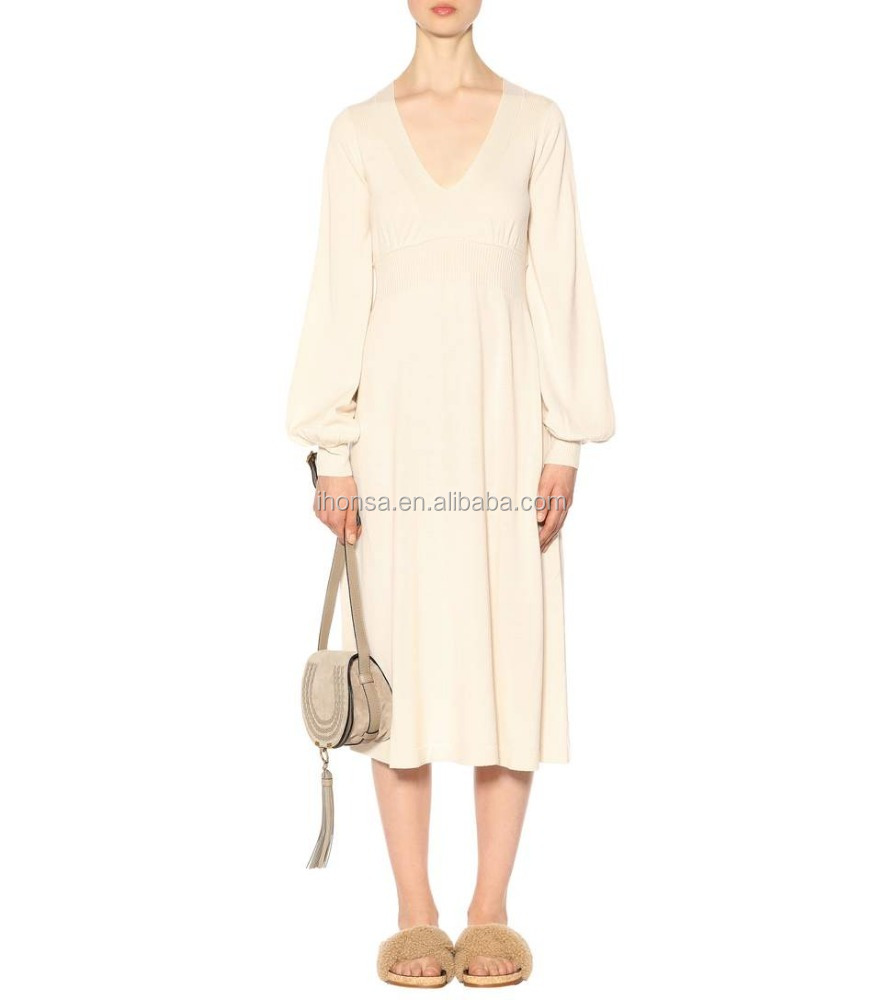 2017 New Fashion Women Long Sleeve Bare Breast Night Dress White ...